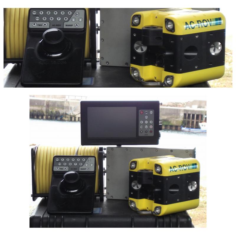 AC-ROV微型水下机器人