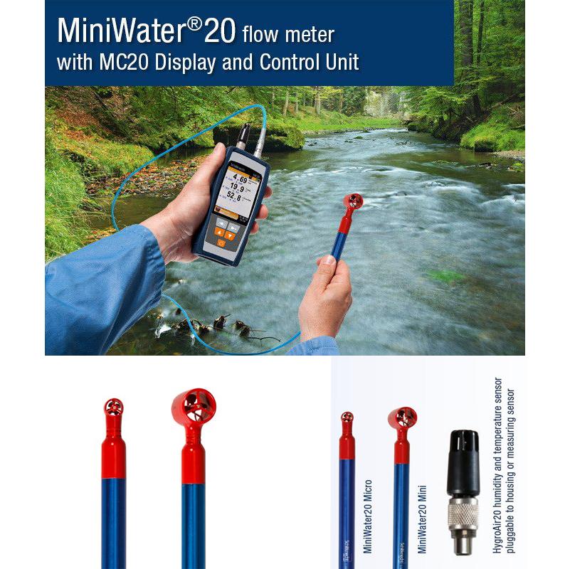 MiniWater20手持式旋浆式表面流速仪