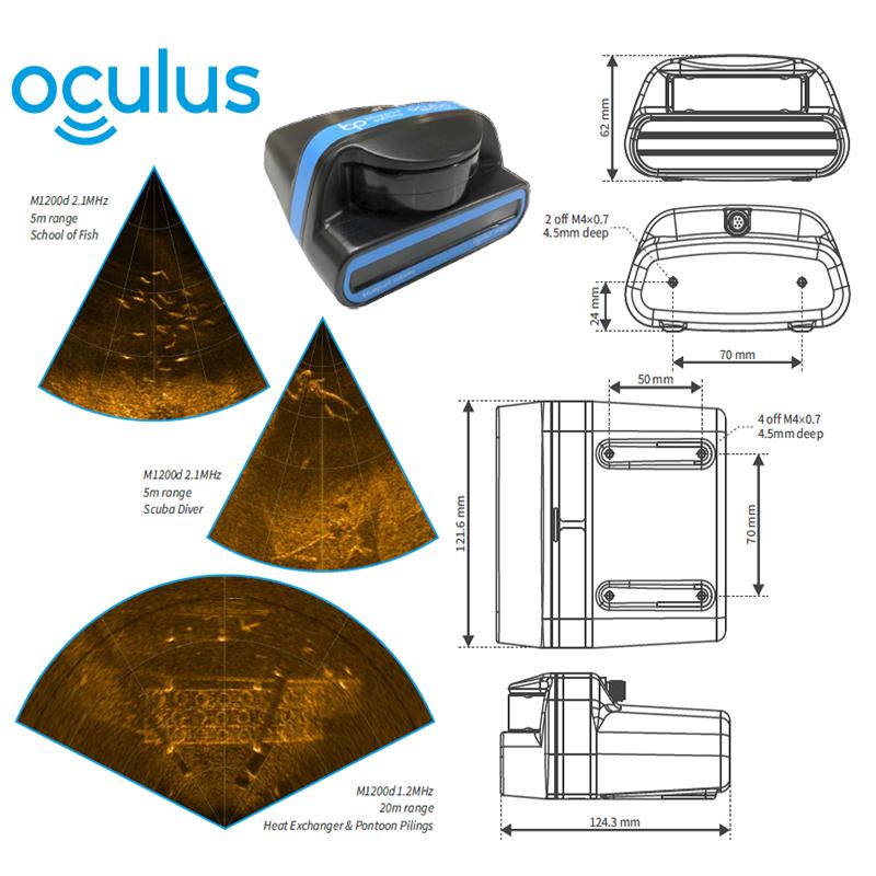 Oculus M系列多波束图像声呐